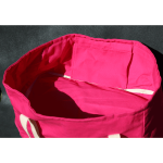 You'll never forget your shopping bag again with ShelfBag in hibiscus catching your eye.