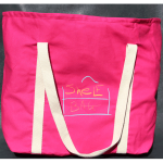 Take hibiscus ShelfBag to the beach. It will keep a towel and fresh clothes free from sand.