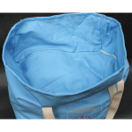 Ice blue ShelfBag is here for your stuff. All of your stuff. Even your laundry.