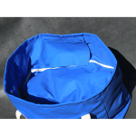 Marine blue ShelfBag looks good in the gym. It's twice the bag compared to all those others that never seem to work out.